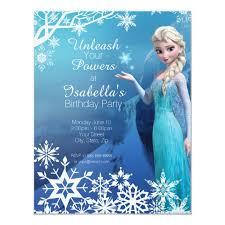 Frozen Birthday Invitations Frozen Elsa Birthday Party Invitation