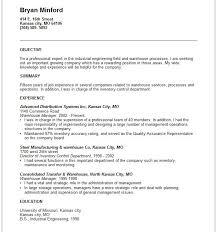 Objective Summary For Resume Strikingly Examples Of Objective Summary Stunning Resume Writing 6