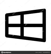 Windows Symbol Abbildung Stockvektor Everydaytemplate 156076090