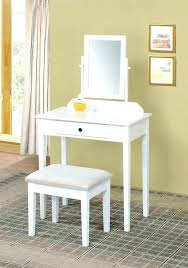 Small White Vanity Table White Dressing Table Design For Small ...