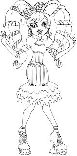 Small Picture Coloring Pages Free Printable Monster High Coloring Pages