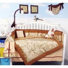 golden dragon silky baby crib nursery bedding set 13 pcs included diaper bag