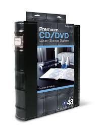 Space Saving Dvd Storage Amazoncom Bellagio Italia Cd Dvd Storage Binder Black Home