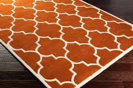 orange area rug 5x7 awesome round burnt orange area rug home ideas collection easy ideas within