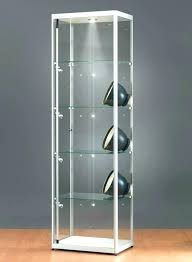 display cabinet lighting fixtures. Display Case With Lights Cabinet Lighting New For Glass Silver Side Led Fixtures W . T