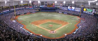Seating Chart For Tropicana Field St Petersburg Tropicana Field Tampa Bay Rays
