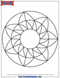 Small Picture Geometric Coloring Sheets Help Teens Struggling with Math unique