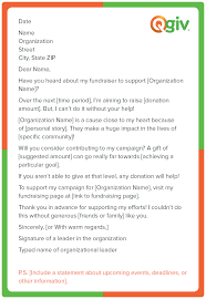Donation Letter Samples 9 Awesome And Effective Fundraising Letter Templates