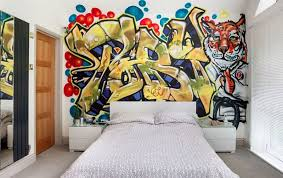 really cool bedrooms for teenage boys. Collect This Idea Teen Bedroom Grafitti Wall Really Cool Bedrooms For Teenage Boys