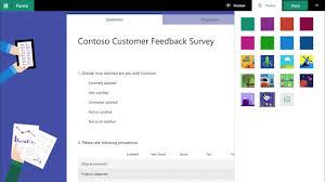 Microsoft Exchange Forms Designer Microsoft Forms Is Enterprise Ready Now Microsoft Tech