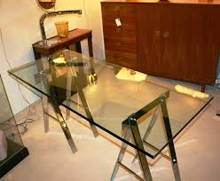 image of sawhorse table legs plans