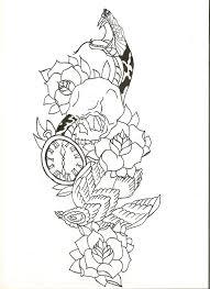 эскиз татускан с рисунка от руки фрилансер александра