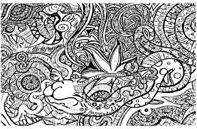 Small Picture Psychedelic Coloring Pages To Download And Print For Free Trippy