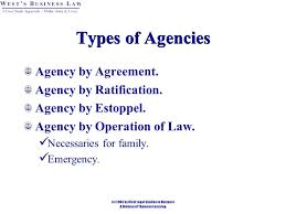 The law of agency in Kenya  A case study of Kenya National Trading  Corporation  KNTC