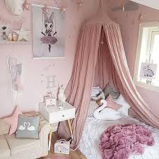 Scheme Kid Bed Canopy Bed Curtain Round Dome Hanging Mosquito Net ...