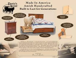 Made In America Bedroom Furniture Contemporary Bedroom Furniture Amish Cosmopolitan By Daniels