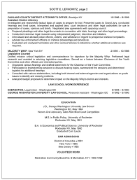 Attorney Resume Sample Template Prosecutor Resume Example District Attorney
