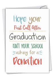 First Call Hilarious Graduation Greeting Card