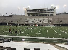 Vanderbilt University Football Stadium Seating Chart Vanderbilt Stadium Section T Rateyourseats Com