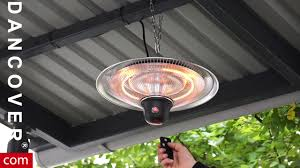 hanging patio heater. CosyLifeStyle Hanging Patio Heater With A Remote Control From Dancover