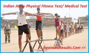 Indian Army Physical Fitness Test Medical 2019 20 Height