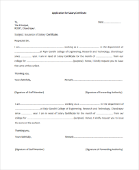 11 Salary Certificate Examples Samples