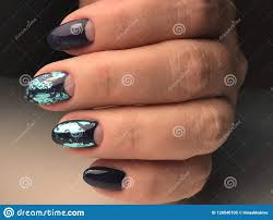 Professional Nail Polish Designs Unusual Nail Design Stock Image Image Of Hands Forms