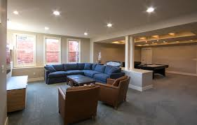basement remodelling. Light And Bright Basement Remodel By HighCraft Builders. Remodelling