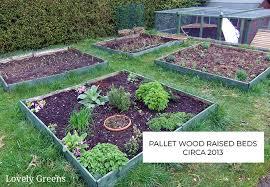 a raised garden bed