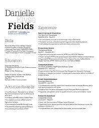 Danielle Fields-Resume