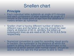 Snellen Chart Result Interpretation Vision Assessment