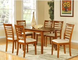 large round oak dining table dining room table 6 chairs dayri