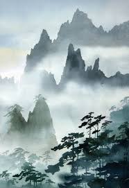 wong s loong mount huangshan anese paintingchinese paintinganese artchinese landscape