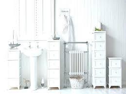 Tall White Bathroom Storage Cabinet Tall White Bathroom Cabinet The
