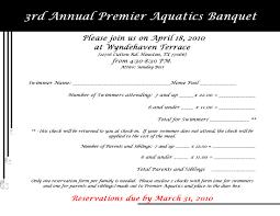 Invitation Forms Premier Aquatics Event 13