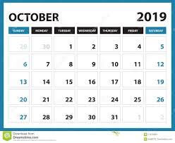 Desk Calendar For September 2019 Template Printable