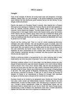 swot analysis of european clothing company id  samples swot analysis of european clothing company 1