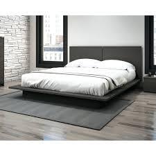 cheap platform beds ideas including shelf headboard king bed frame