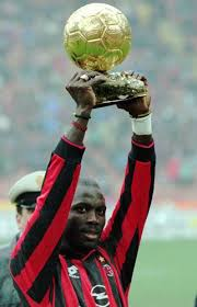 valley news essay soccer fame helped weah become african leader 7 1996 file photo ac milan s n born striker george weah raises the golden ball trophy before the start of an italian league a soccer match between