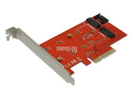 <b>Аксессуар Переходник Orient C296E</b> PCI-E 4x to NGFF (M.2) PCI ...