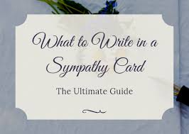 Condolenses Card What To Write In A Sympathy Card The Ultimate Guide