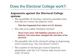 electoral college  electoral college system 27