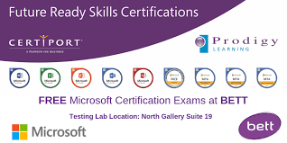Microsoft Free Certification Free Microsoft Certifications Testing Lab Bett Show 2020 22 25