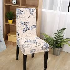 fxdlh 100 polyester erfly chair covers for wedding banquet 2pc universal stretch removable