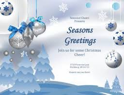 greeting card templates free seasons greetings card free flyer template by hloom com pictures