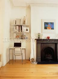 alcove office. Minimalist Alcove Shelving With Stylish Desk Office H