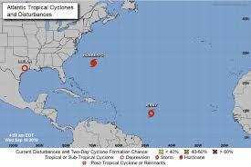 Jerry, Lorena, Mario to become hurricanes | News | fox10tv.com