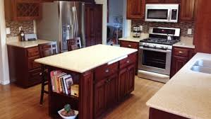 Refinishing Wood Kitchen Cabinets Gorgeous Cabinet Refacing And Refinishing Angie's List