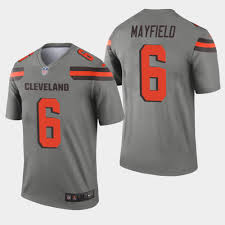 Baker Youth Browns - Gray Mayfield Inverted Jersey Game