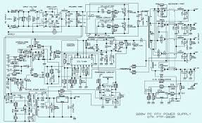 w atx power supply   computer   schematic  circuit diagram         w atx power supply   computer   schematic  circuit diagram    dtk ptp     tl